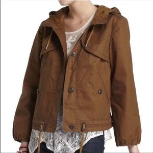 Daughters of the liberation brown utility jacket